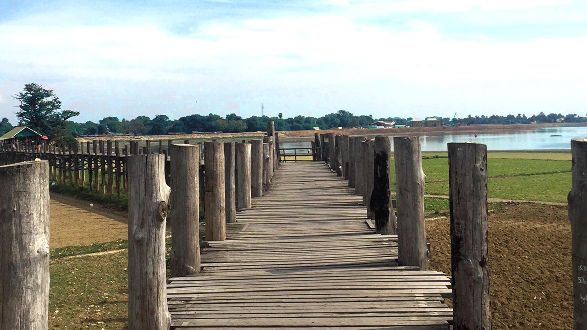 U-Bein, el puente de teca más largo del mundo