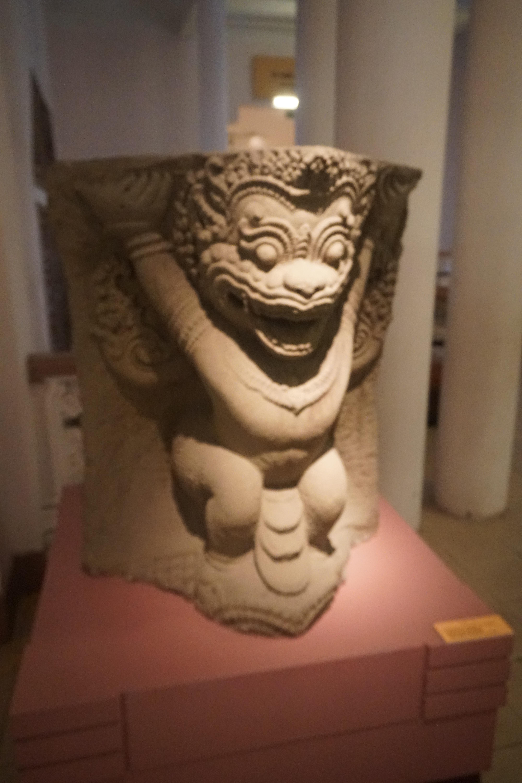 Pieza del Museo Nacional de historia Vietnamita