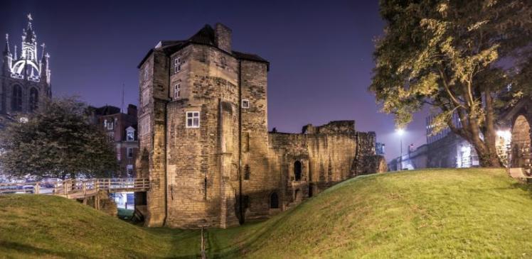 Foto del castillo de Newcastle. Foto de la web oficial de Newcastle