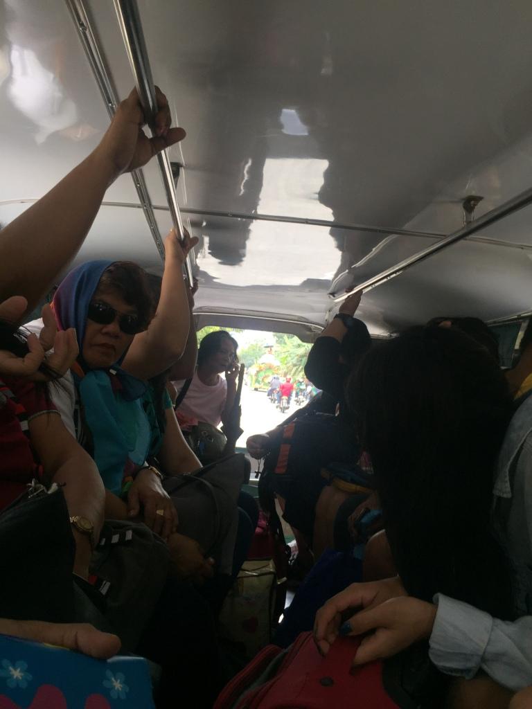 Interior del Jeepney