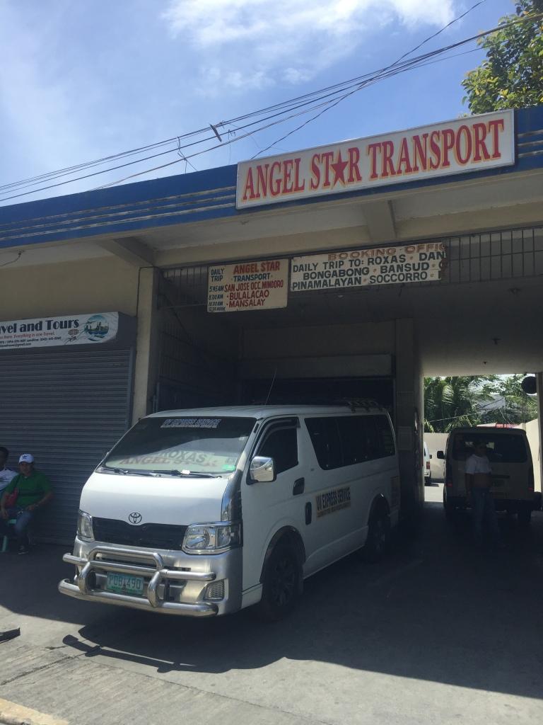 Angel Star Service Van Calapan - Roxas