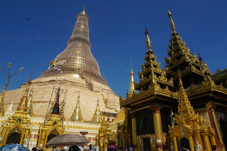 Shwedagon Pago en Yangón
