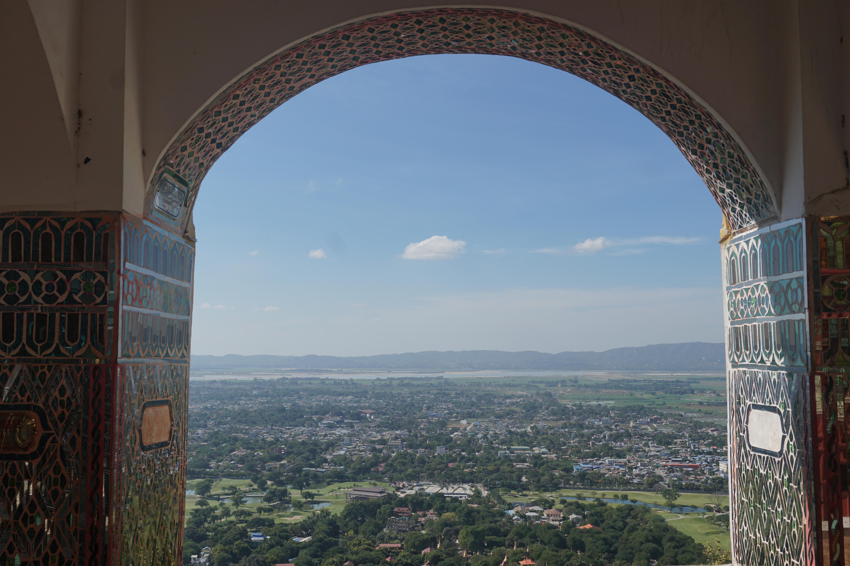 Vistas desde Mandalay Hill, Mandalay