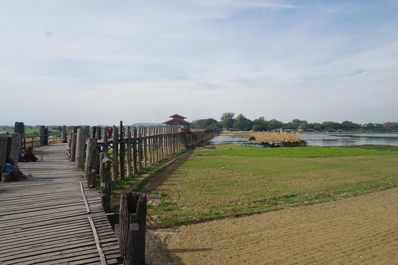 Puente U bein en Amarapura Mandalay