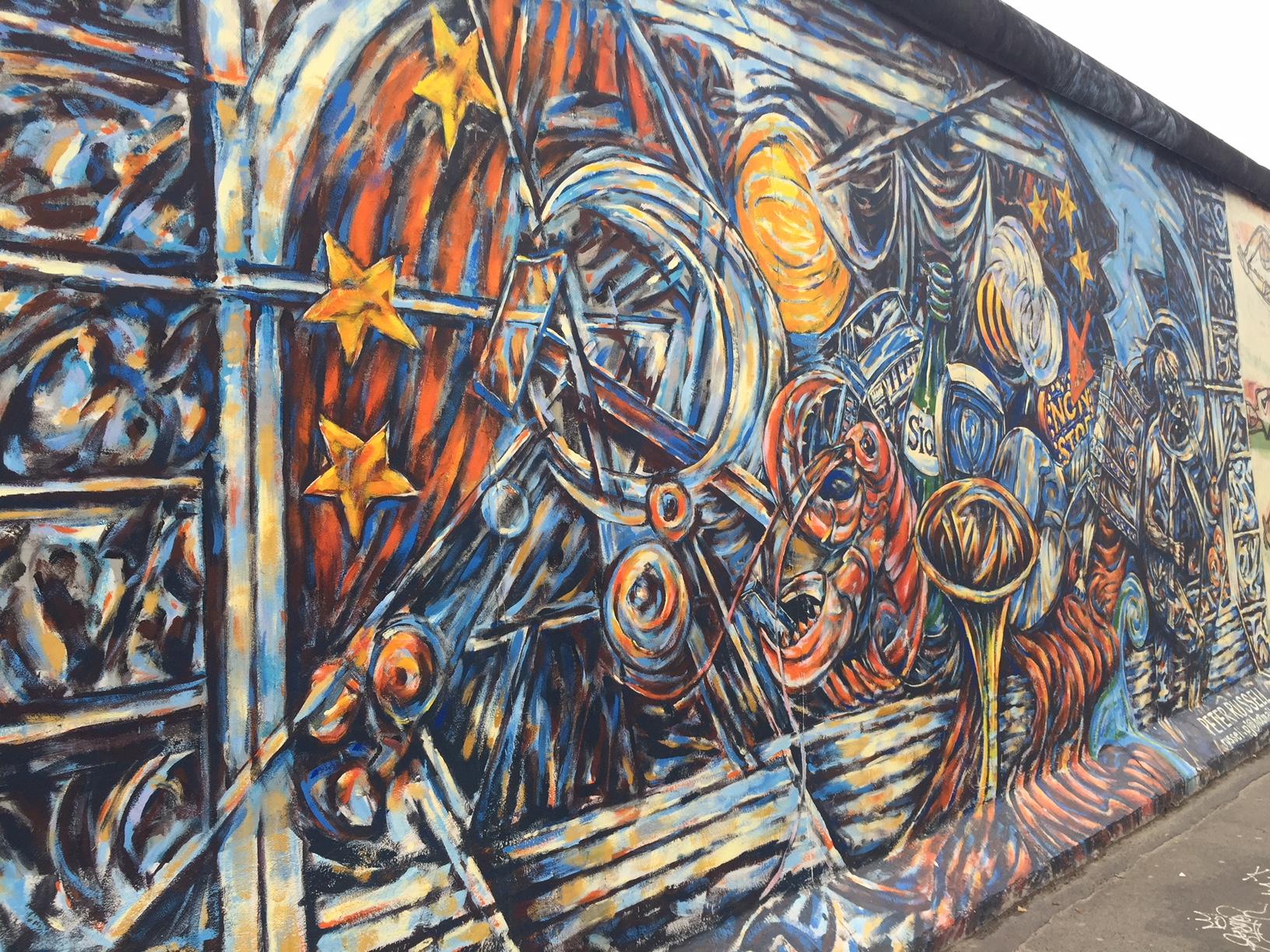 East Side Gallery, Berlín, Alemania