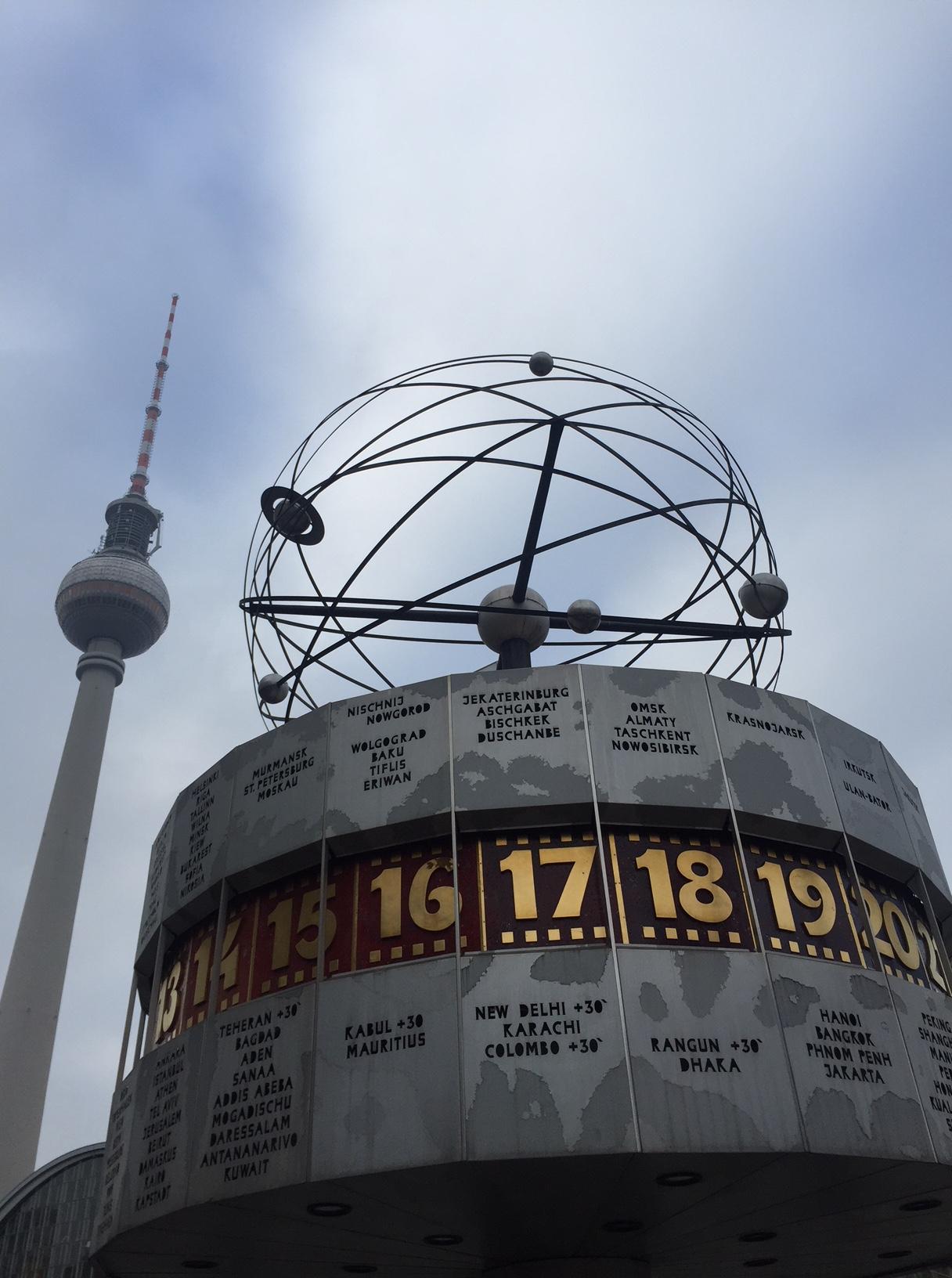 Reloj mundial, Alexanderplatz