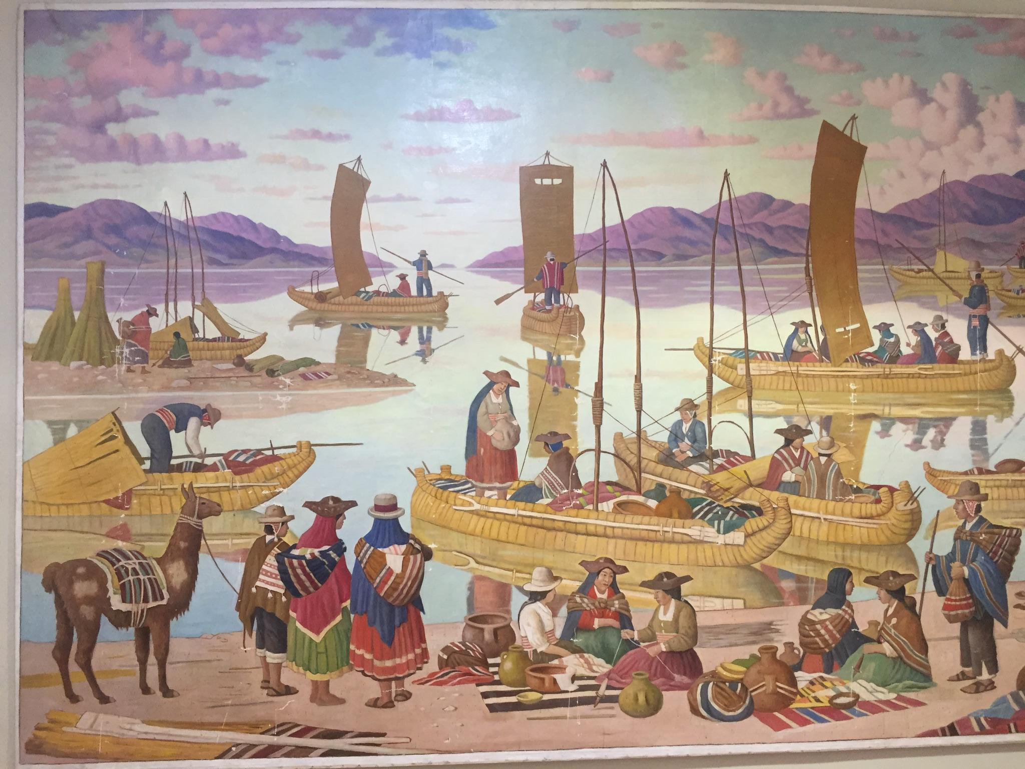 """""""Balseros del Titicaca"""" Carlos Dreyer Puno"""