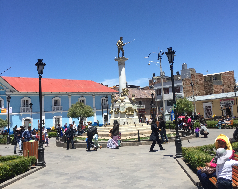 Parque Pino, Puno, Perú